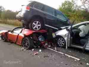 SAD!! 3 Die, 50 Injured In Luxurious Bus Accident On Auchi-Okene Road